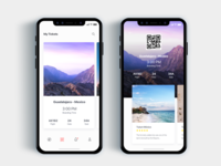 Airplane ticket app- Daily UI Challenge 38/365