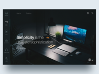 Custom workspace website   daily ui challenge 40 365