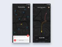 Parking car app - Daily UI Challenge 42/365