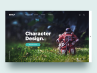 Discovery courses  platform - Daily UI Challenge 44/365