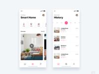 Smart home app   daily ui challenge 47 365