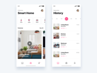 Smart home app - Daily UI Challenge 47/365