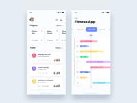 Management team sprint app - Daily UI Challenge 48/365
