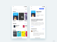 App for learn new things about ux reading books    daily ui challenge