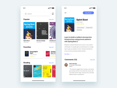 App for learn new things about UX  - Daily UI Challenge
