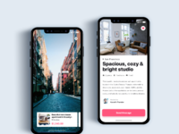 Book apartment using ar    daily ui challenge