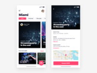 Discovery event app   daily ui challenge