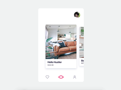 Minimal Furniture Cards Gallery Animation animation ios design app card design detail furniture clean motions ui design ux design user experience user interface iphone cards interaction ux motion motion uxui ux