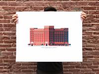 Nabisco Building Print