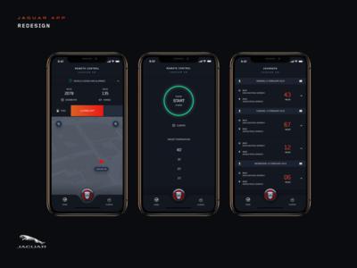 Jaguar App Redesign