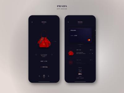 Prada App Design