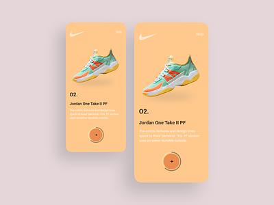 Nike App Onboarding Design clean interface uiux ux ui app mobile mobile ui mobile app mobileapp mobileappdesign onboarding ui onboarding minimal mobileapps ux ui design mobile apps