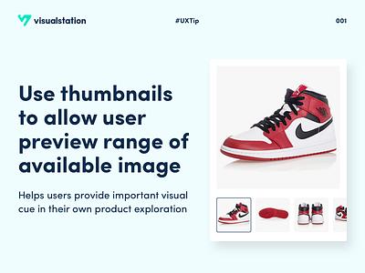 UXTip 001 design agency contrast design tips post design visualstation productdesign product ux ui tips