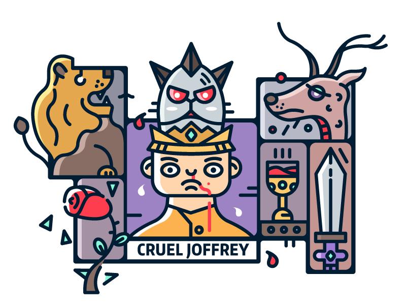 Game of Thrones (GOT) example #386: 【Game of Thrones】-Joffrey