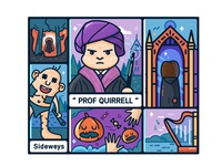 【Harry Potter】Prof Quirrell