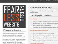 Fearless Website Design