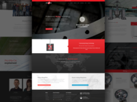 Industrian Mixing Company   New Website mixers mixing webdesign concept design web website