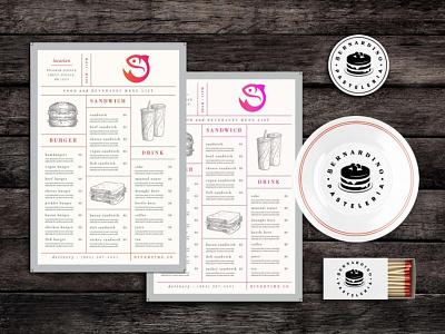 Lunch Chow Food Menu Template illustration design newmockup new freemockup free psd mockup 2020