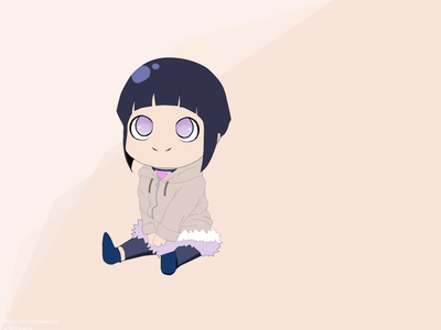 Hinata Hyūga whit3hawks sketch