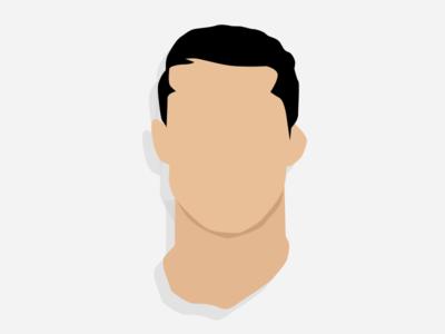 Cristiano Ronaldo whit3hawks flat design ronaldo cristiano cr7