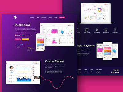Duckboard Application Website pay order credit dashboard web design web app design interface ux ui mobile application
