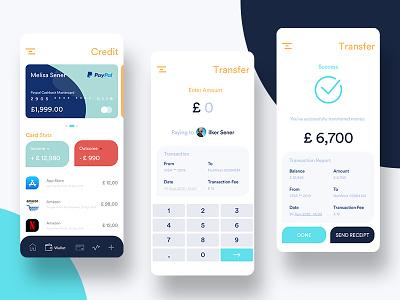CepG Finance Application banking wallet web design flat dashboard interface design app application ios finance ux ui mobile