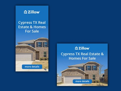 Banneк set for Zillow banner ads photoshop design web design ads design webdesign ads ads banner banner ad adobe photoshop