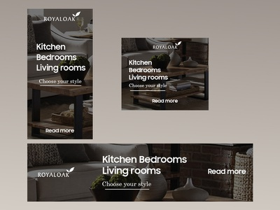 Furniture store banner set web design design photoshop ads banner ads ads design webdesign ads banner banner ad adobe photoshop