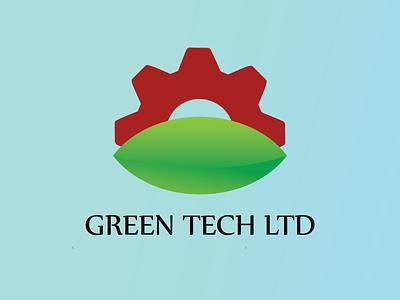 Green Tech Logo brand design logo designs design logodesign logo design logo