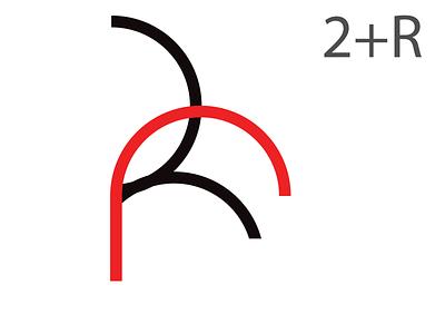 2+R Logo brand design brand identity logo designer logo logo design letter logo challenge letter logo design letter logo