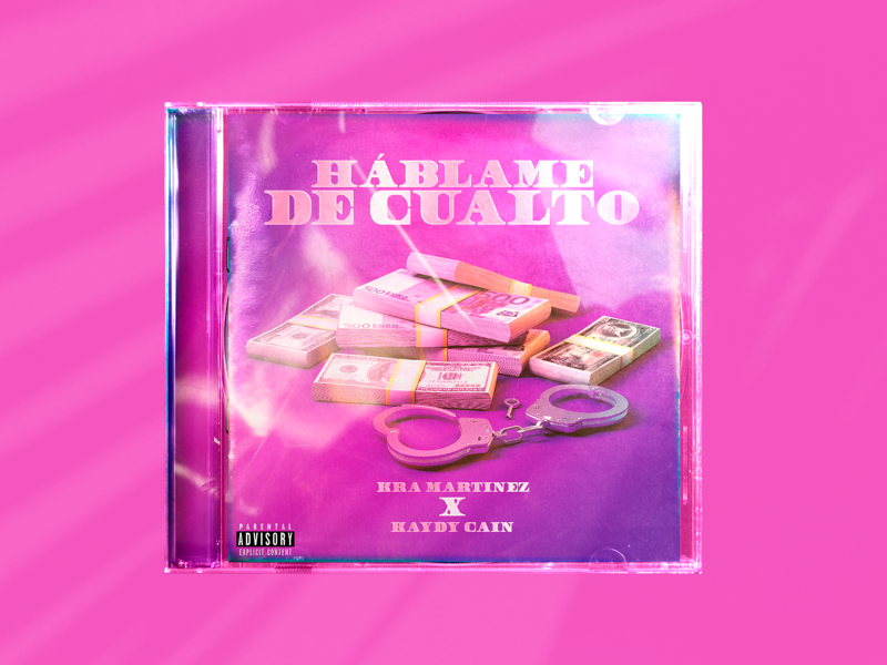 Háblame de cualto. trap rap cover art music
