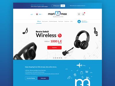 mart max ui ux - ecommerce website martmax website ecommerce design uiux ui