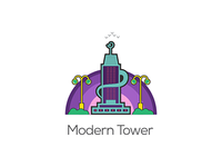 Modern Tower Illustrations