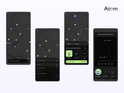 Autonomous vehicle concept app