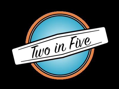 2in5 Draft logo