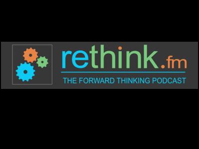 Rethinkfm V2 Logo logo