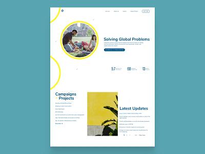 CarbonGo climate change design hero section website ui web design landing page hero