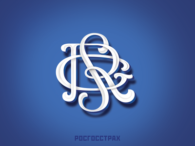 Logo - Rgs  calligraphy artist design print font type logotype lettering