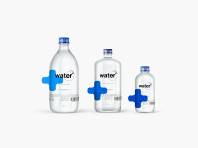 Water  logo branding water