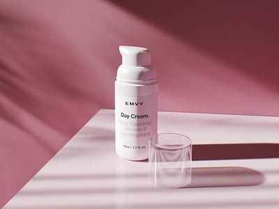 EMVY beauty cosmetics style corporate design packing branding logo
