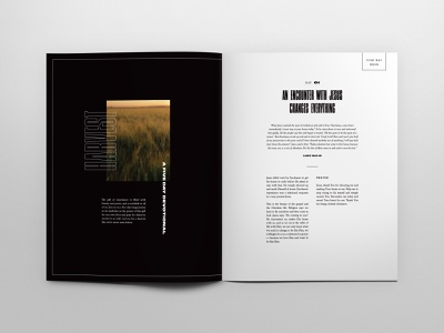 Jesus Culture Church Magazine #8 layout editorial design typography sacramento jesus culture print publication magazine church