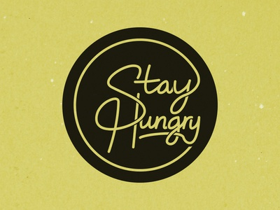 Stay Hungry - Script