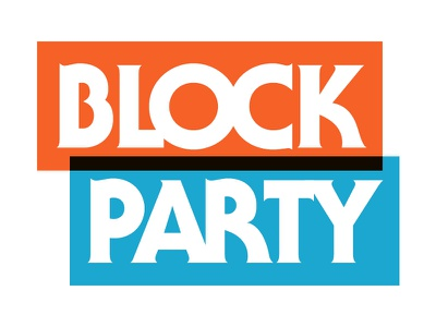 Block Party block party type overlay serif gothic