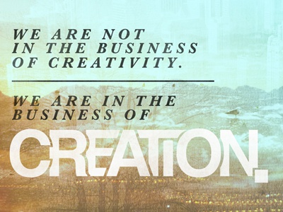 Creativity dribbble