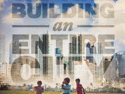 Build a city ad dribbble