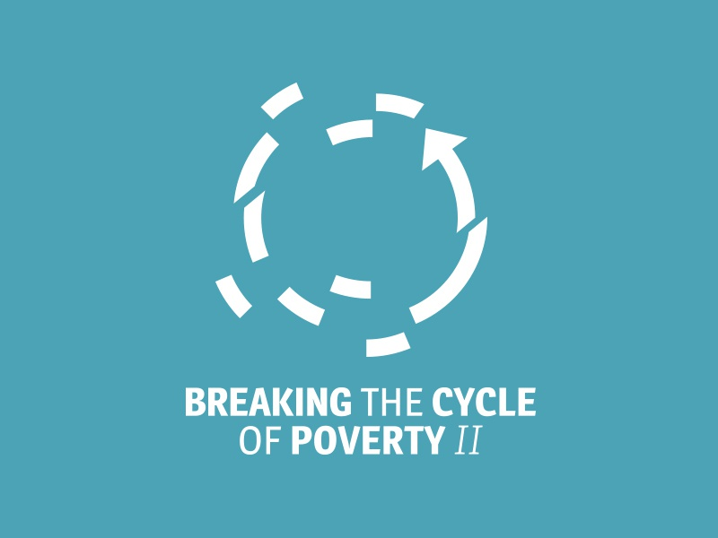 stuck in the poverty cycle It is absolutely true that breaking the cycle of poverty requires institutional and systemic change.