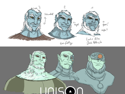 Balor Development [ unison ] balor elf fomorian fomori celtic myth graphic novel comic character design