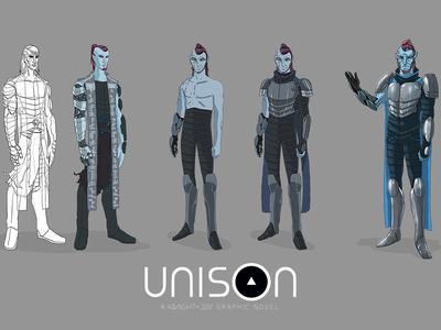 Nuada Development 2011-2012 [ Book of Invasions ] unison graphic novel character design celtic myth birds feather hair elf