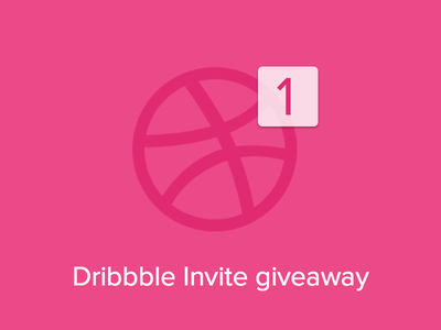 Dribbble Invite Giveaway game design flat bootstrapguru invitation giveaway invite dribbble invite