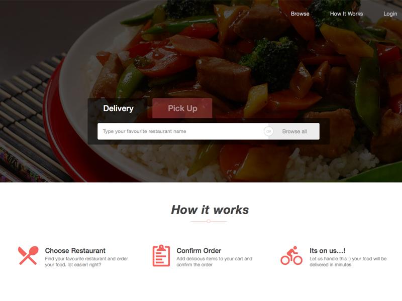 Food Delivery Website food panda trendy bootstrapguru bootstrap flat pickup online delivery delivery food